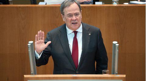 Armin Laschet im NRW-Landtag