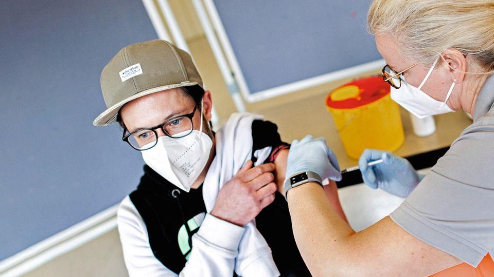 Impfszene aus Hannover