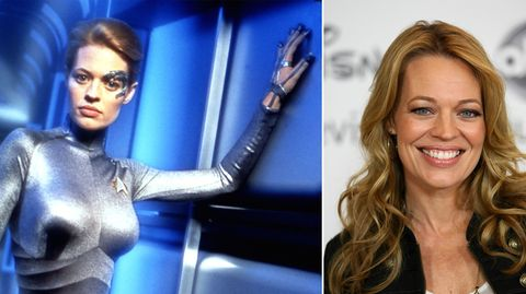"Schauspielerin Jeri Ryan in der Rolle ""Seven of Nine"""