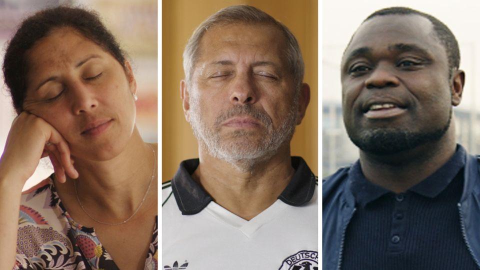 Sie berichten von ihren Erfahrungen mit Rassismus: Steffi Jones, JimmyHartwig, Gerald Asamoah
