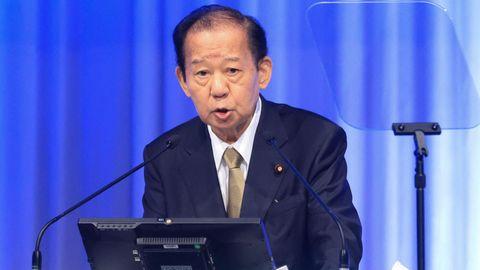 Der Generalsekretär der Regierungspartei LDP, Toshihiro Nikai