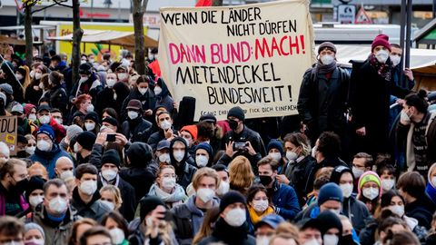 Berlin Demo Mieter