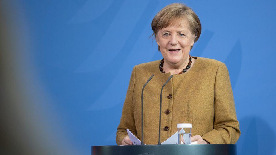 Hat erste Coronavirus-Impfung bekommen: Bundeskanzlerin Angela Merkel