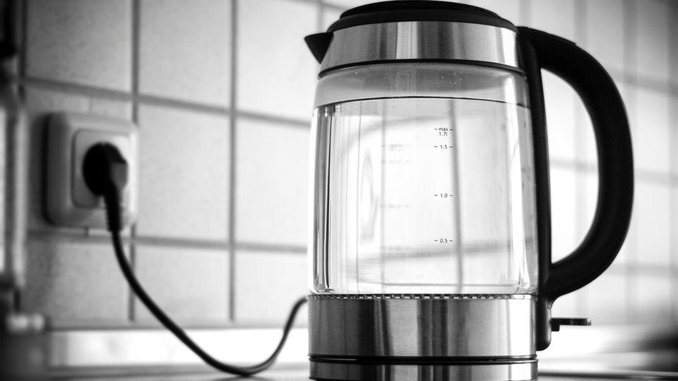 Wasserkocher ohne Plastik gibt es aus Glas