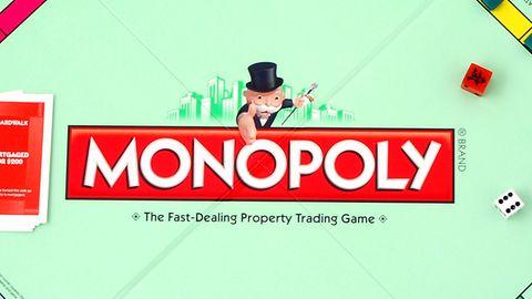 Monopoly-Spielbrett