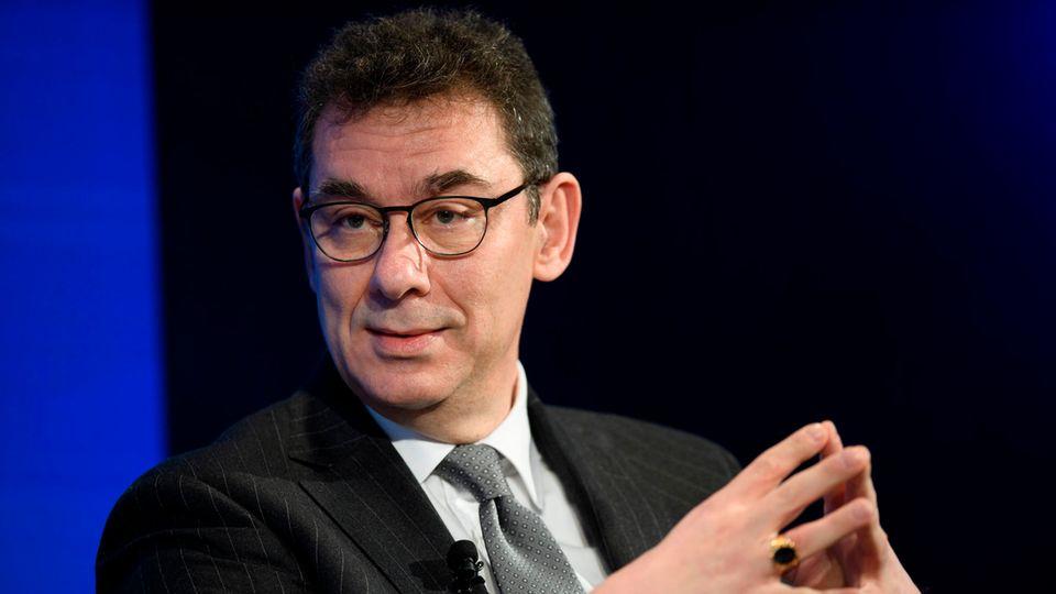 Albert Bourla, Vorstandsvorsitzender des US-Pharmakonzerns Pfizer