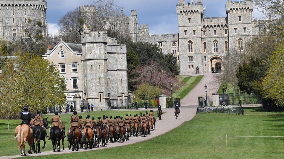 In Windsor wird die Beerdigung von Prinz Philip schon geübt