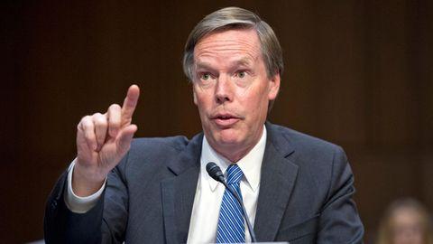 Nicholas Burns, früherer Sprecher und Staatssekretär des US-Außenministeriums
