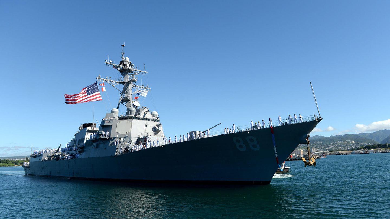 """Die """"USS Preble"""" wird als erstes Schiff miteinem tödlichen HELIOS-Laser ausgerüstet."""