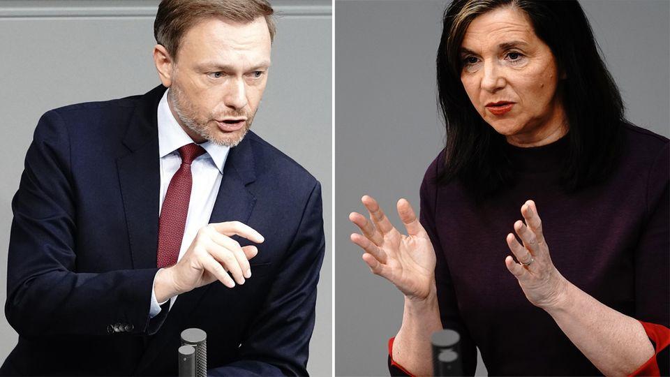 """""""Bundes-Notbremse"""" im Parlament: Opposition attackiert Regierung scharf"""