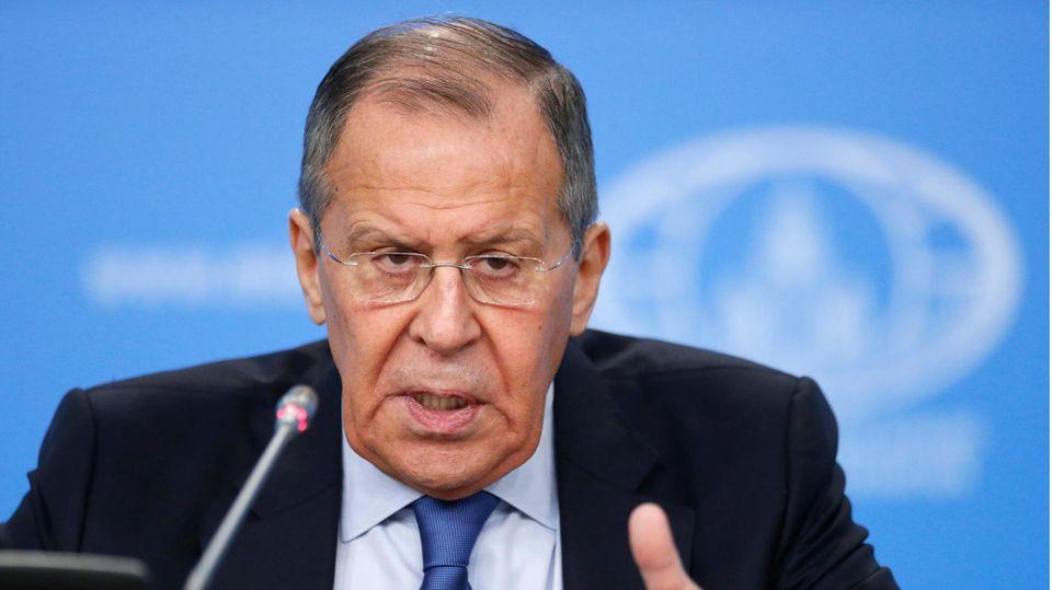 Sergej Lawrow, Außenminister von Russland
