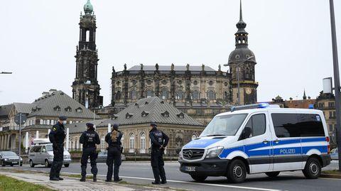 News heute: Polizei in Dresden