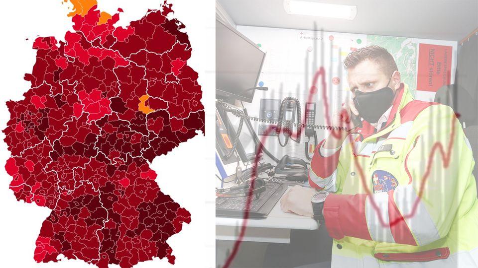 """Kein Landkreis mehr unter 35er-Inzidenz – Epidemiologe: """"Mit allen Mitteln die Zahlen runterbringen"""""""