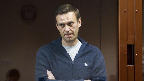 News heute: Kreml-Kritiker Alexej Nawalny während einer Gerichtsanhörung imFebruar