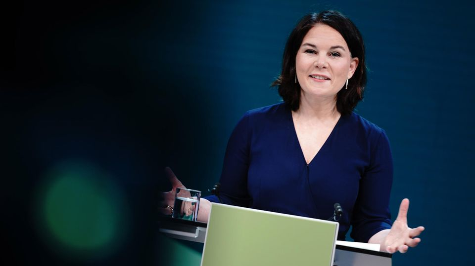 Annalena Baerbock, Co-Bundesvorsitzende von Bündnis 90/Die Grünen