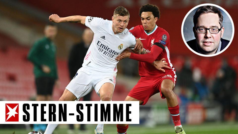 Ihre beiden Klubs wollen die Super League: Toni Kroos von Real Madrid und Trend Alexander-Arnold vom FC Liverpool