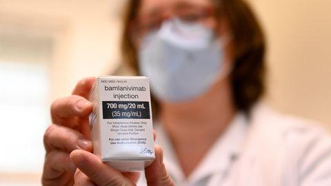 Antikörperpräparat Bamlanivimab