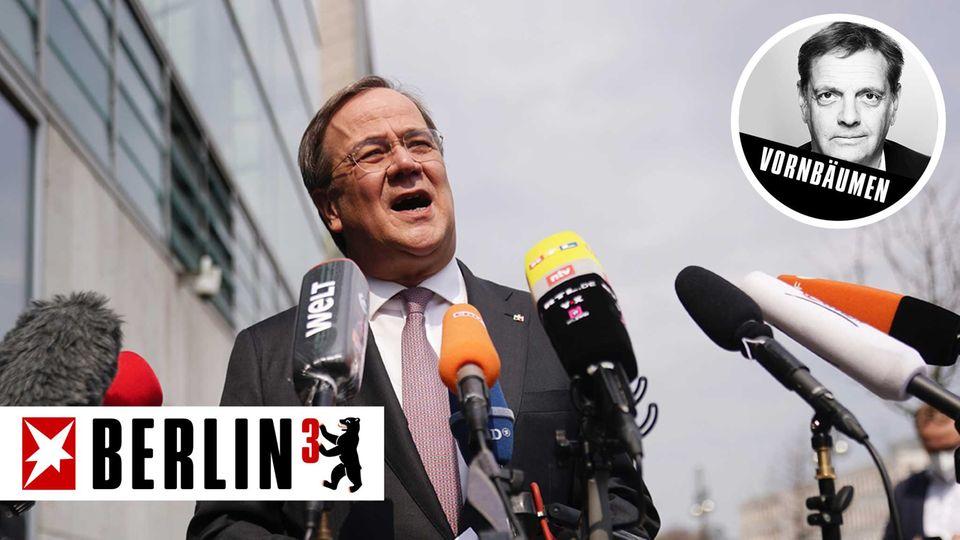 Armin Laschet will Kanzlerkandidat werden