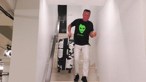 """Marcus Prinz von Anhalt, Kandidat der Sat.1-Reality-Show """"Promis unter Palmen"""", musste nach der ersten Folge die Villa verlassen"""