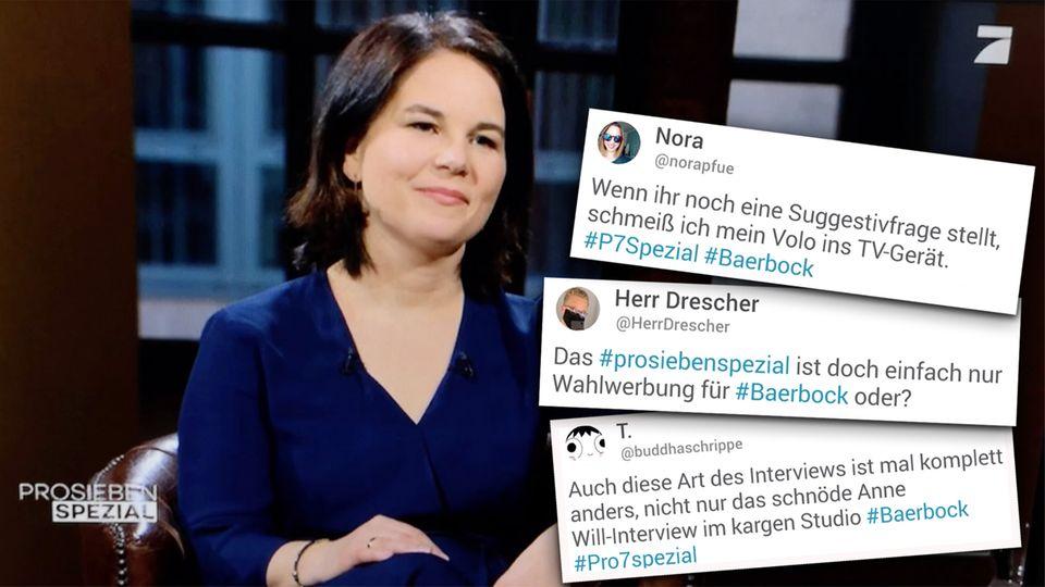 Annalena Baerbock: So reagiert das Netzt auf ihr ProSieben ...