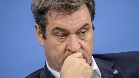 Bayerns Ministerpräsident Markus Söder. Wann reagiert er auf das Votum des CDU-Bundesvorstandes?