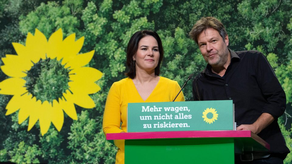 Annalena Baerbock und Robert Habeck