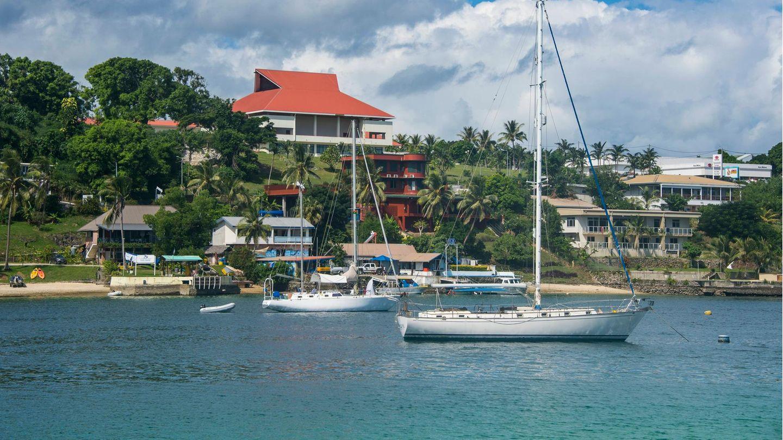 Hafen von Port Vila auf Vanuatu