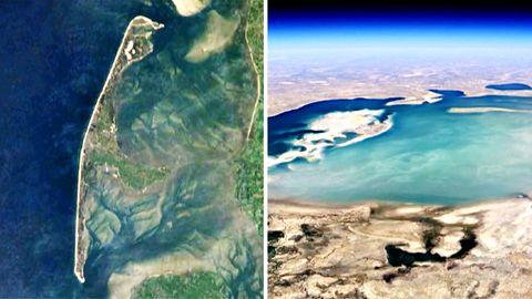 Von Sylt bis zum Aralsee–Google Earth zeigt erschütternde Zeitraffer-Aufnahmen