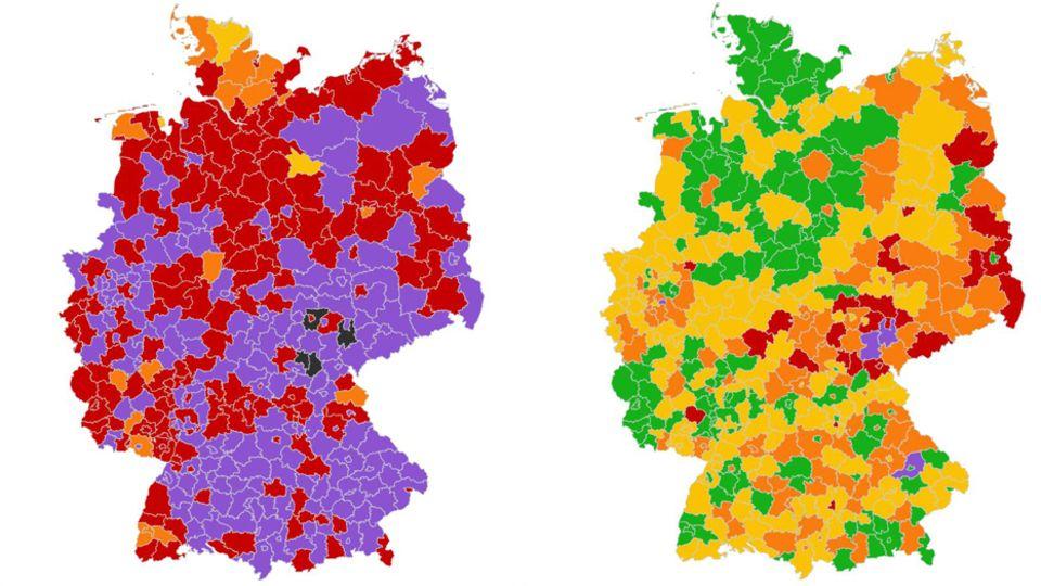 Coronavirus Deutschlandkarte