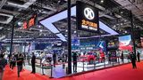 BAIC Messestand auf der Auto Shanghai 2021