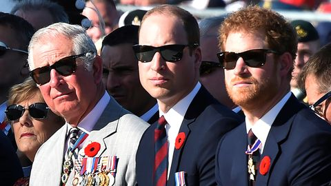 Prinz Charles, Prinz William und Prinz Harry