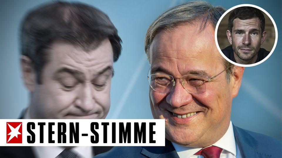 Micky Beisenherz über Markus Söder und Armin Laschet