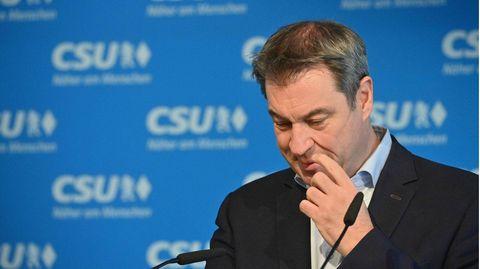 CSU-Vorsitzender und Bayerns Ministerpräsident Markus Söder