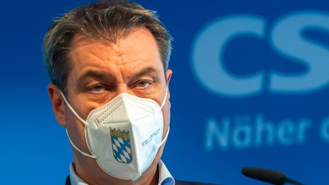 Markus Söder erklärt seinen Verzicht auf die Kanzlerkandidatur
