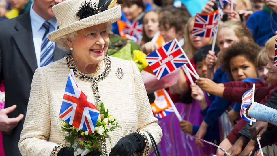 Queen Elizabeth wird am 21. April 95 Jahre alt.