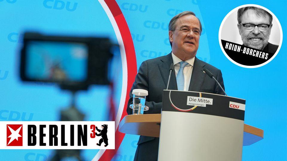Armin Laschet, CDU-Bundesvorsitzender und Kanzlerkandidat der Union
