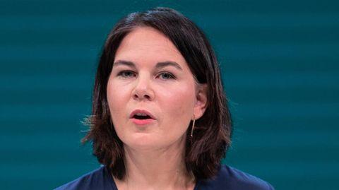 Annalena Baerbock am Rednerpult