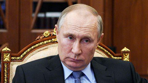 Moskau: Wladimir Putin, Präsident von Russland