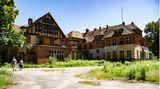 Verwunschenes Gelände: Die ehemalige Lungenheilanstalt befindet sich bei Oranienburg nördlich von Berlin.