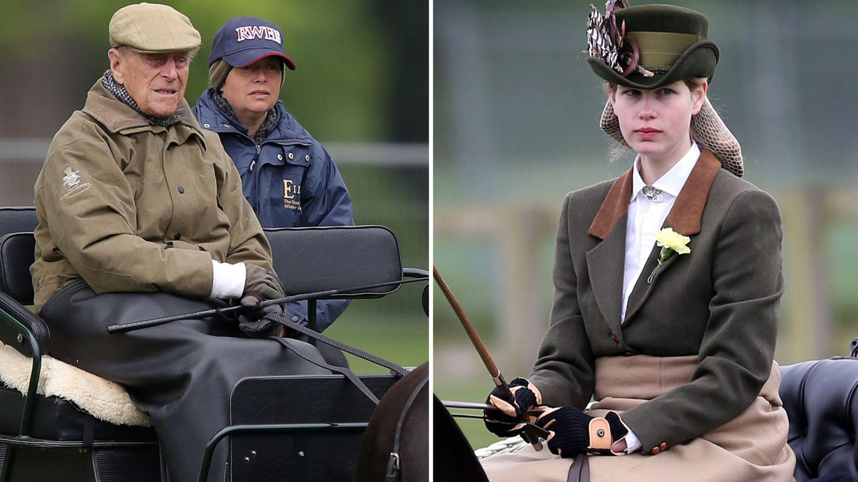 Prinz Philip vererbte seine geliebteKutsche und seine Ponys seiner Enkeltochter Lady Louise