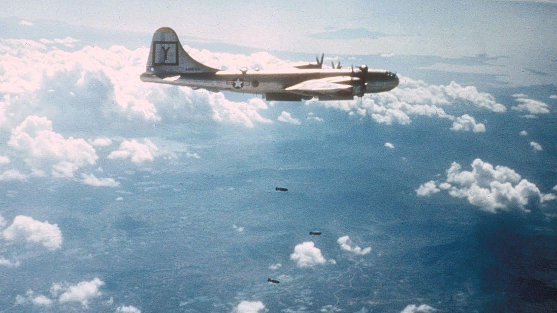 Die MiG-15 konnte 4000 Meter höher als die B-29 und ihr Jagdschutzfliegen und sich so in eine perfekte Angriffsposition bringen.