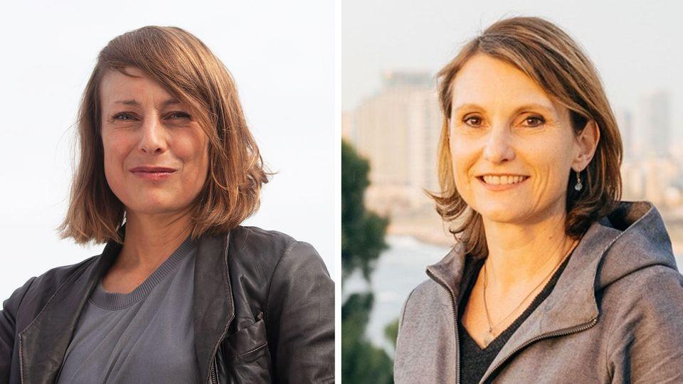 """Jenni Roth (l.) ist Redakteurin der """"Berliner Zeitung"""", Anja Reich (r.) leitet deren """"Dossier""""-Ressort."""