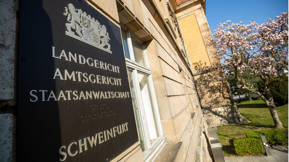 Das Gebäude des Landgerichts in Schweinfurt
