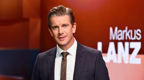 ZDF-Moderator Markus Lanz begrüßt auch heute wieder seine Gäste