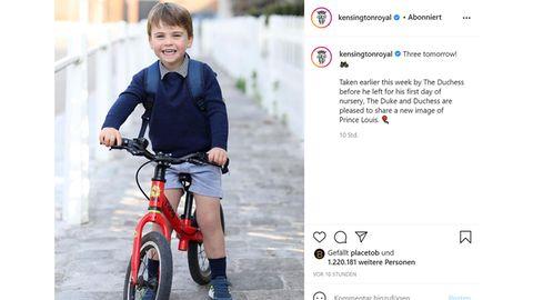 Vip News: Prinz Louis feiert seinen dritten Geburtstag