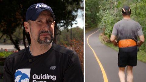 Thomas Panek ist blind, aber geht trotzdem joggen – dank einer Erfindung