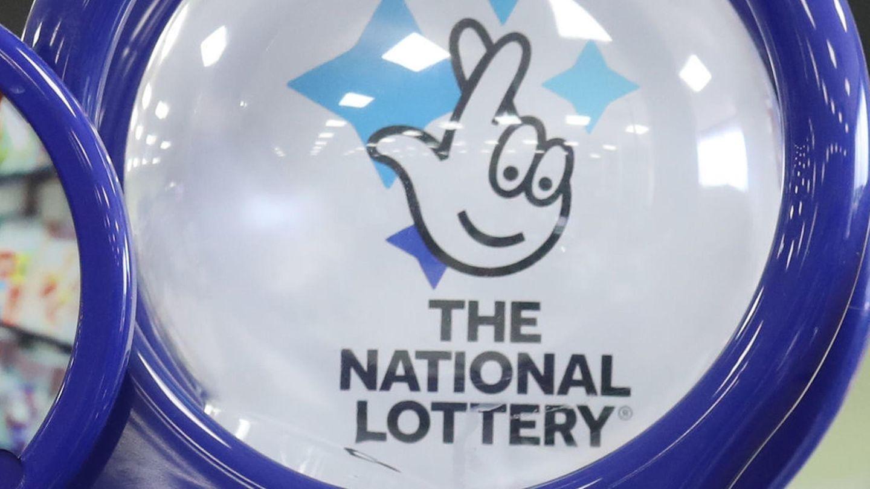 Losverkauf der National Lottery