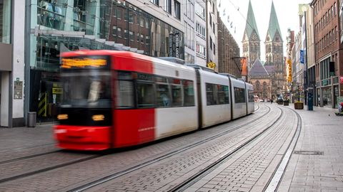 Straßenbahn in Bremen