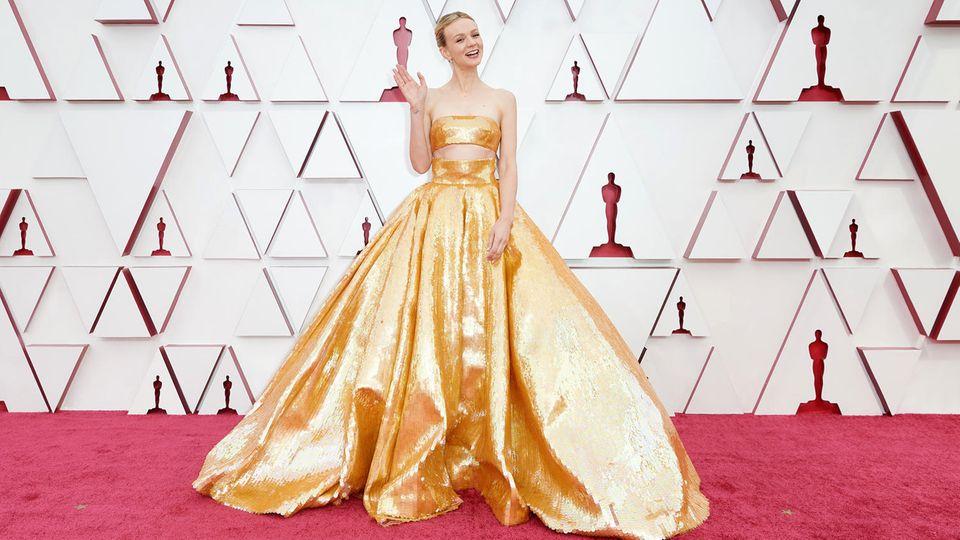 Oscars 2021 Carey Mulligan
