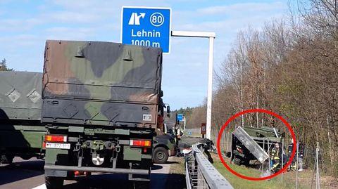 A2: Laster drängt Bundeswehr-Unimog von der Straße – zwei Soldaten sterben